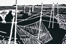 06003-Reusenfischer-Linocut-Handdruck-auf-Hahnemuehle-Buetten-Auflage-50-Stck-26x39cm-2006